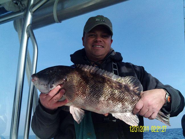 Beautiful weather big blackfish adam bomb 1 24 for Adam bomb fishing
